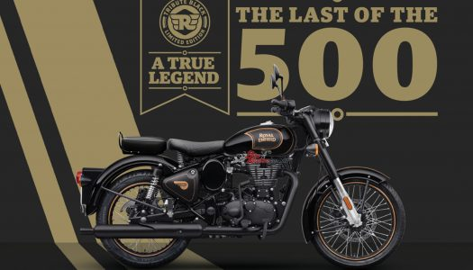 Special Edition: Royal Enfield Classic 500 Tribute Black