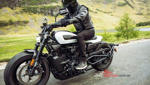 New Model: 2021 Harley Davidson Sportster S, $26,495