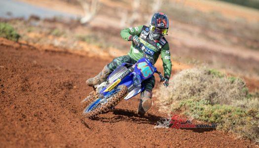 Yamaha Faces Tough Conditions At Hattah Desert Race