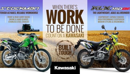Kawasaki AG Motorcycles Now Available For A Great Price