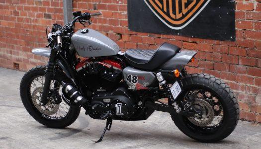 Custom Ride: The MDB Harley 48 That Took On Big Red