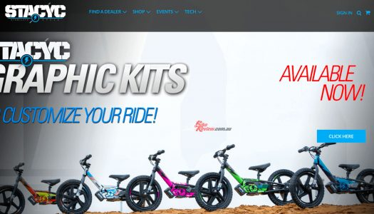 STACYC Australian Website And Store Locator Now Live