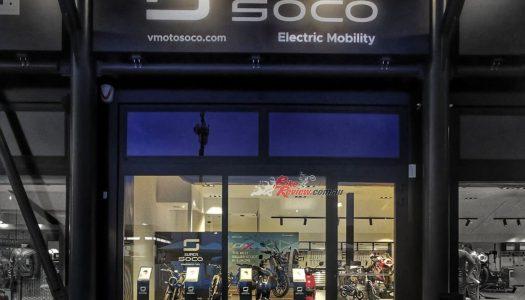 Super SOCO Opens Misano World Circuit Store, Showcasing EV