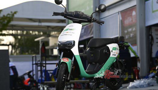 Vmoto Soco announced as scooter supplier to MotoE
