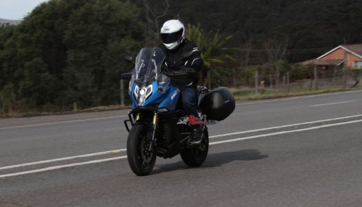 Staff Bike: Project CFMOTO 650MT, luggage and airfilter