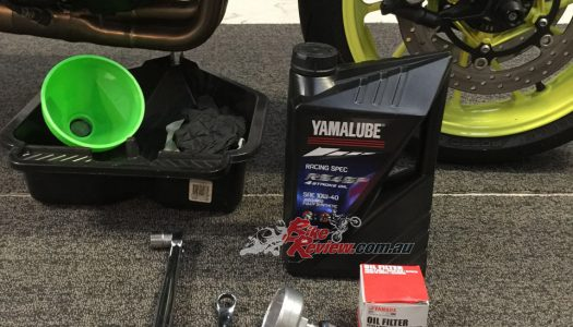 Product Review: Yamalube Oil Change Kit, Yamaha MT-09