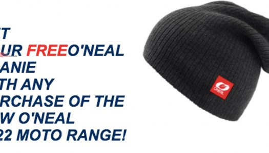 Get A Free O'Neal Beanie With Any 2022 Gear Purchase