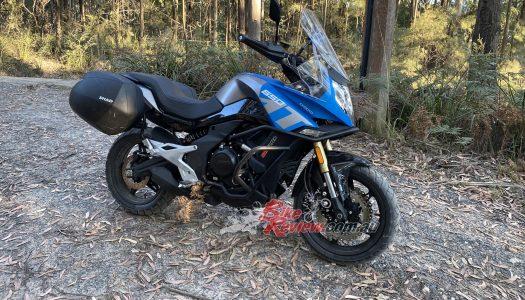 Staff Bike: Project CFMOTO 650MT, Avon Trailrider Tyres