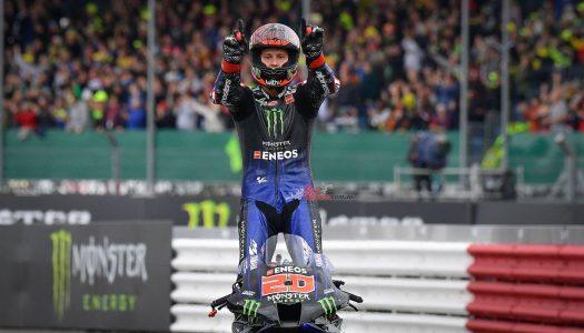 MotoGP: Quartararo wins, Espargaro Makes History At Silverstone, UK