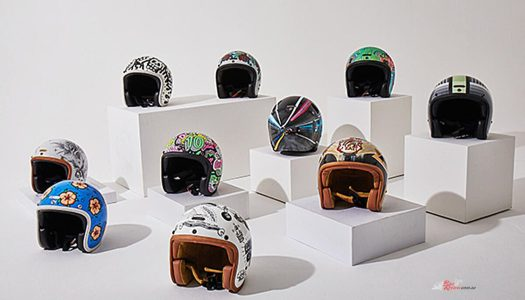 DGR Celebrate 10 Years With A Custom Helmet Auction