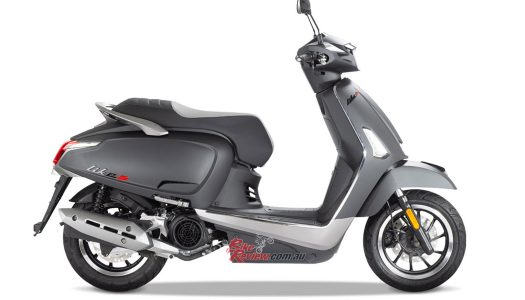 Kymco Like 150 S Now Available In Matte Black