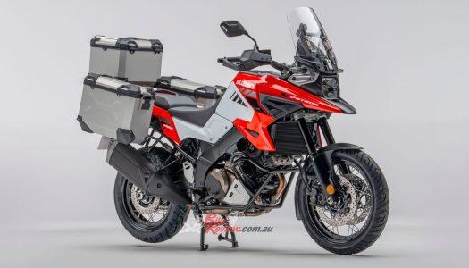 Suzuki Introduce 3-Year Warranty & V-Strom Voyager Kit